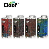 100 Original Eleaf IStick Pico RESIN Mod 75W Match Melo 3 Mini Tank 2ml New 75W