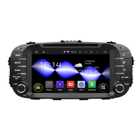 Android 7.1 Car Stereo GPS 3G CD player MP3 Bluetooth HDMI Sat Nav Car Multimedia Player Radio FOR KIA SOUL