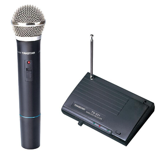 Takstar TS 331A VHF Wireless Microphone VHF wireless system for live performances conference musical and opera