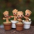 Em estoque guardiões da galáxia Mini bonito Groot Brinquedos de ação e Toy figuras dos desenhos animados filmes e TV