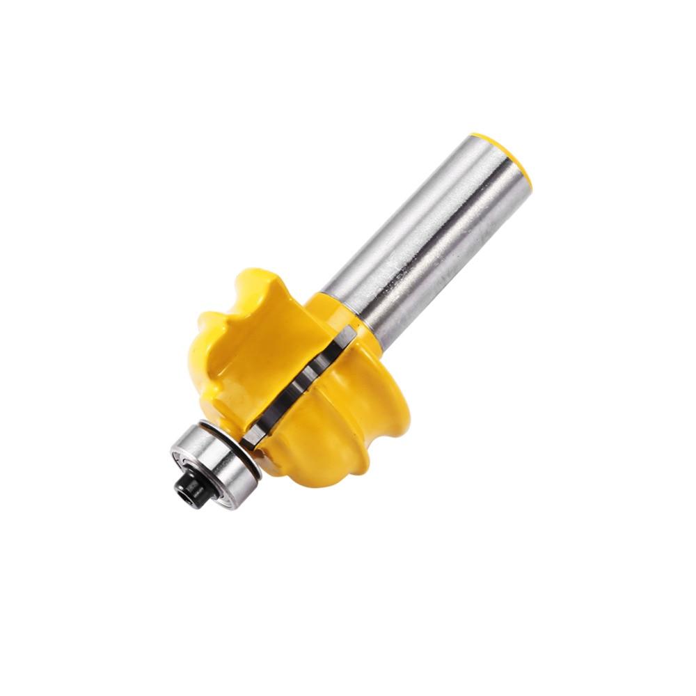 Router Bit 1/2'' Shank Cove Shaker Woodworking Carpenter Chisel Cutter Tool New pneumatic jet chisel jex 24