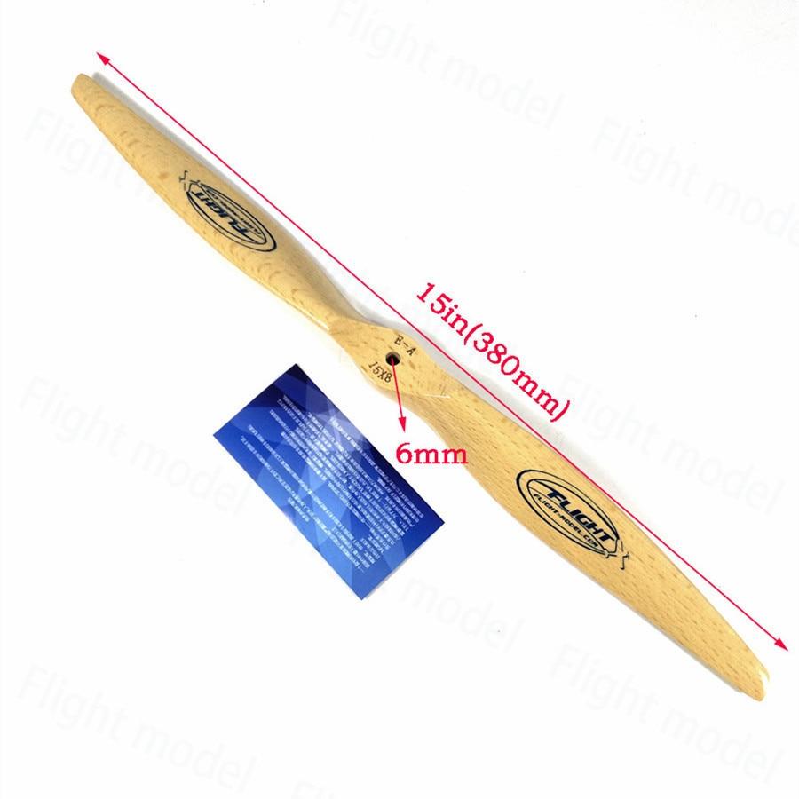 Flight-model CW Wooden Propeller Beechwood Prop For Electric RC Airplane 15X8 16X8 flight model wooden rc airplane propeller cw for gasoline engine 16x6 16x8 16x10 18x8 18x10 19x8 19x10 20x8 20x10 21x10