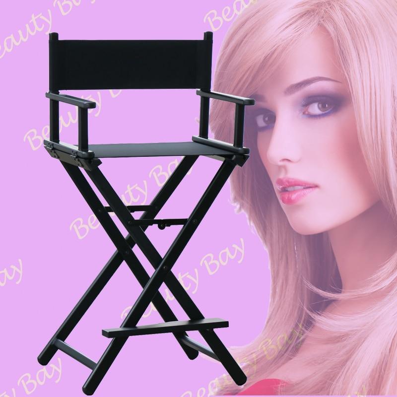 Portatile di Alluminio di trucco sedia per abbinare il trucco Illuminato caso-in Portatrucchi e beauty case da Valigie e borse su  Gruppo 1