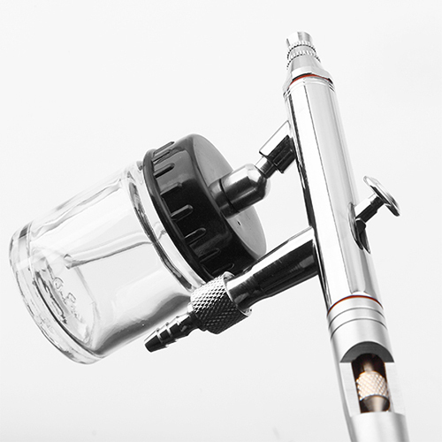 FENGDA BD-182 double action airbrush suction feed spray gun face body painting tattoo hand tools nail art cake decoration 4