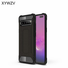 For Samsung Galaxy S10 5G Case Shockproof Armor Silicone Hard PC Phone Back Cover Fundas