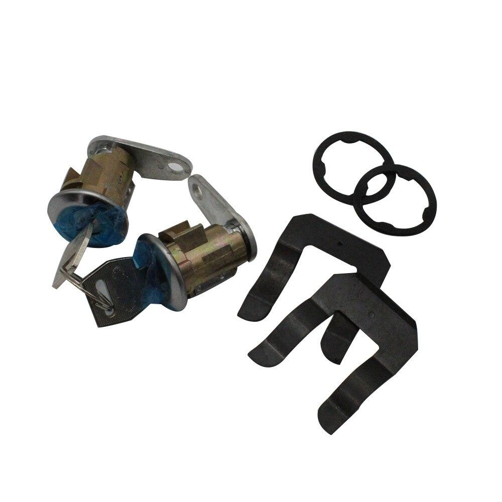 Car 1 Pair Car Door Lock + Key Lockcraft Door Lock Cylinder Pair / For Listed Ford & Mercury Models D21