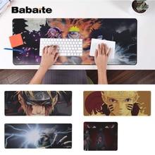 Babaite Beautiful Anime Naruto  Locking Edge Mouse Pad Game Rubber PC Computer Gaming mousepad