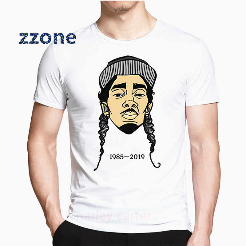 Nipsey Hussle T Shirts Women And Man Cool T-shirt 2019 New Fashion Casual Short Sleeve T-shirt Tops HCP4571