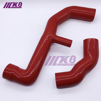 Silicone Turbo Intercooler Pipe Hose Kit For Renault 5 GT Turbo 85 96 (2pcs) RED/BLUE/BLACK
