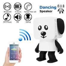 Stereo Bluetooth Speaker Subwoofer Supper Bass Wireless Speakers Dancing Boombox Sound Box Support FM Radio TF AUX USB(China)