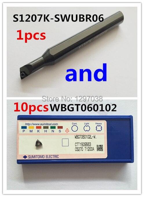 10pcs small aperture boring tool WBGT060102L inserts aperture искусство