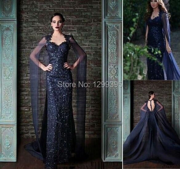 Robe de soiree gothique