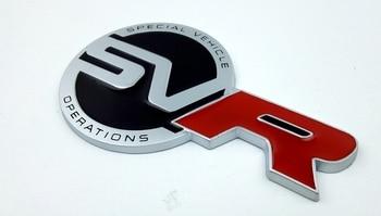 Metal S-V-R Car Emblem Badge Sticker
