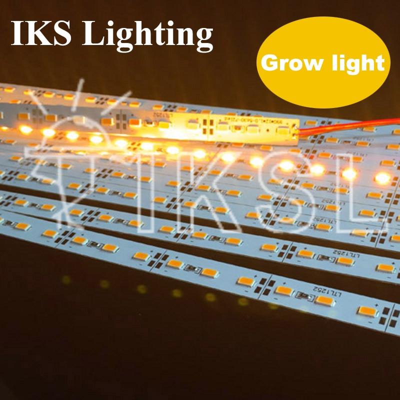 RU Europe Best Seller Yellow Color Led Strip Grow Light 30pcs*50cm SMD Grow Light Led Strip Grow Light Smd 5730 Led Rigid Strip