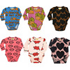 BBK 2016 New INS Baby Clothes Kids Long Sleeve Jumpsuit Cotton Fries Mouth Pig Letter Pattern
