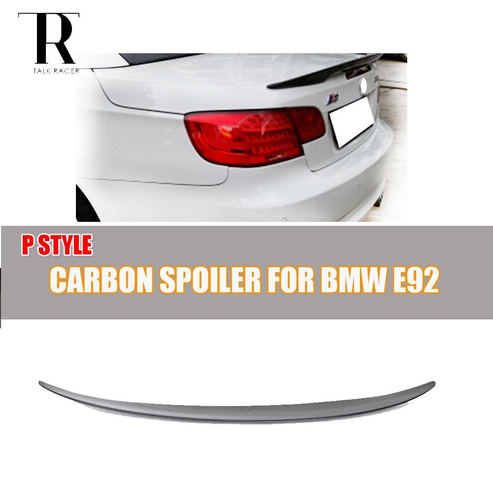 bmw carbon fiber trunk lids 335i 335xi coupe 2008 e92 m3 [ 1000 x 1000 Pixel ]