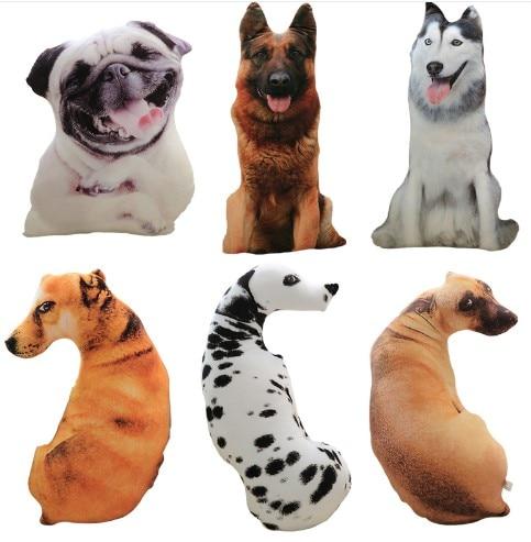 CAMMITEVER 50 см Милая имитация собаки плюшевые игрушки 3D печать мягкие животные Собака Декор для дома диван с мультипликационным героем игрушки Спящая Подушка плюш-in Подушка from Дом и сад on Aliexpresscom  Alibaba Group