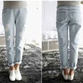 Good Quality Maternity Jeans Maternity Pants Jeans For Pregnant Women Pregnancy Womens Jeans Big Size Adjustable Blue Breathable