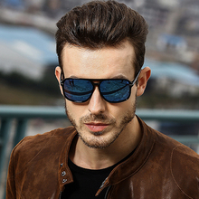 HDTANCEN NEW Men Polarized Oversized Mirror Driving Sun Glasses Man Brand Design