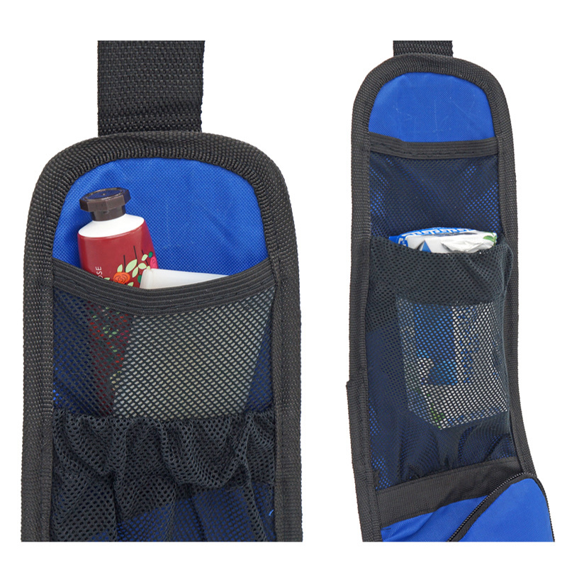 1 PCS Car Seat Storage Bag Car Seat Side Pocket Backseat Drink Holder Hanging Bags Debris Bag Auto Seat Side Hanging For Phone 4