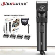 BaoRun S1 Profesional Pet Cat Dog Hair Trimmer Eléctrico de Alta potencia Tijeras Animales Dog Hair Trimmer Grooming Clippers Cortadores