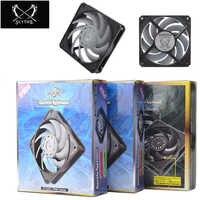 Gentle Typhoon GT1850 2150 PWM GT3000 PWM computer case fan,covered wire 12cm 4pin fan cooler master fit 120MM fan
