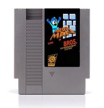 Mega Man In Super MRO Bros. 8 Bit Game Card for 72 Pins Game Player