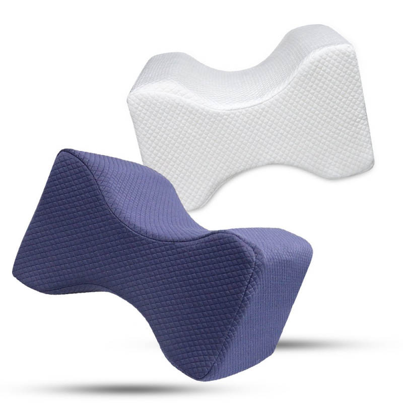 Resilience Memory Foam Knee Support Pillow Leg Pillow For