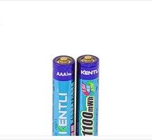 Li-pol-câmera de Alta Kentli 2 Pcs 1.5 V Aaa Lifepo4 Li-ion Baterias Performance 14505 1180mwh Bateria Recarregável de Lítio