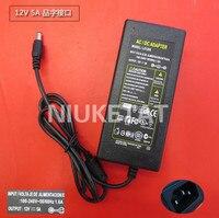 12V 5A LED Strip Light Power Adapter LX1205 Adapter Power Supply Transformer For 5050 3528 LED