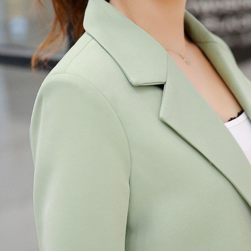 Dames Femme Femmes Vestes 4 Blazer Élégant D'affaires Mujer Taille De Veste Bleiser Slim Plus 2 5 3 Femelle Occasionnels Manteaux 1 1x6Aw0Bq
