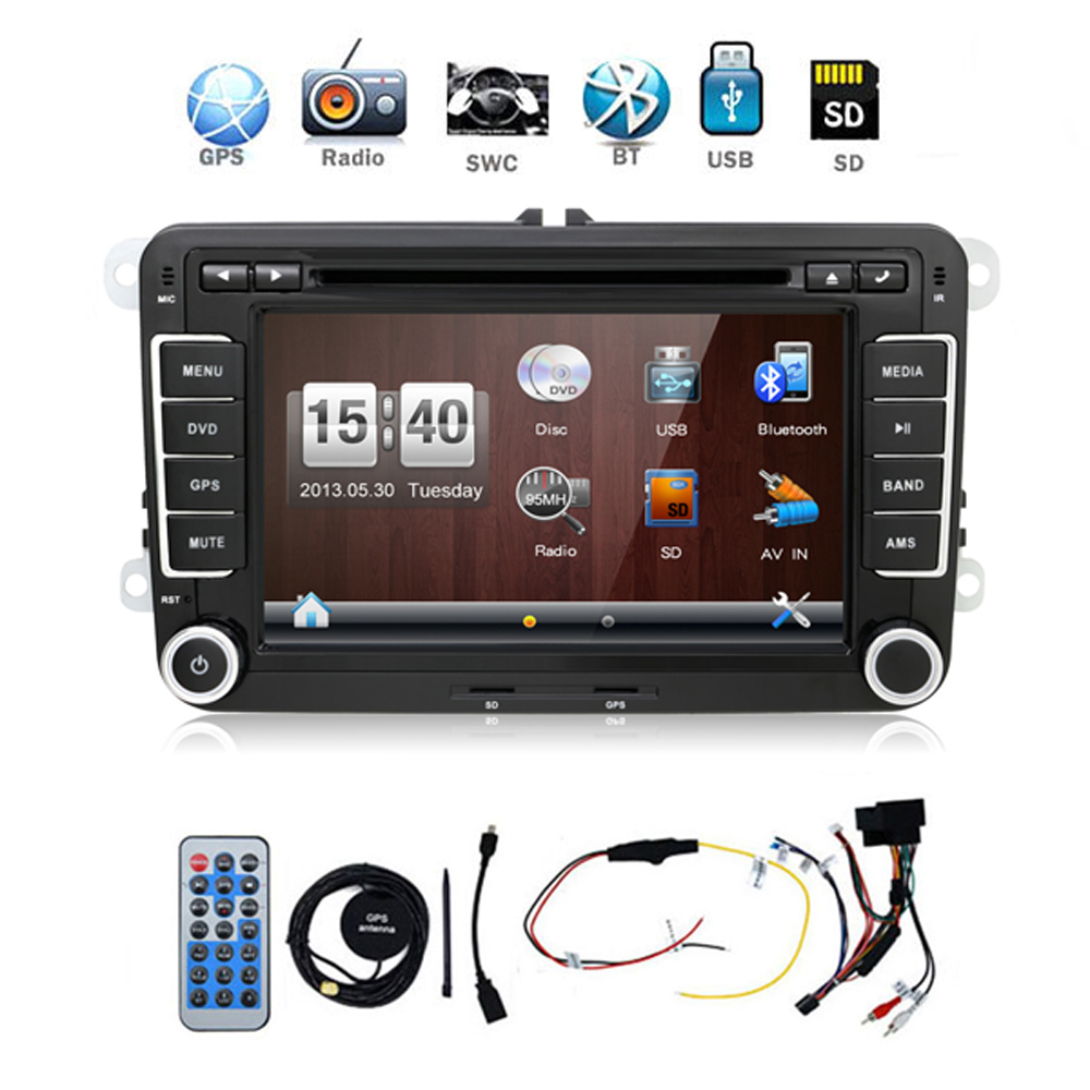 autoradio 2 din car dvd vw navigation for VW GOLF 4 GOLF 5 6 POLO PASSATCC JETTA TIGUAN TOURAN SCIROCCO T5 with GPS 8 inch 2 din car dvd for volkswagen vw golf 4 golf 5 6 touran passat b6 sharan jetta caddy transporter t5 polo tiguan with gps