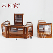 Dollhouse 1/12th Scale Miniature furniture high-quality Store display cabinet set