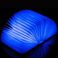 LED Book Lamp Flip Folding Book Light 8 Hours Lighting Time Red White Green Blue 4