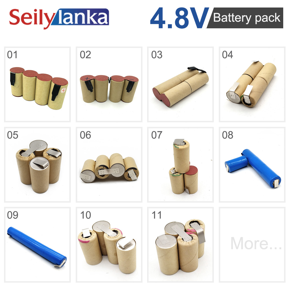 z (customization) 4.8V battery pack SC Ni MH tool battery electric drill vacuum cleaner according to the sample custom welding