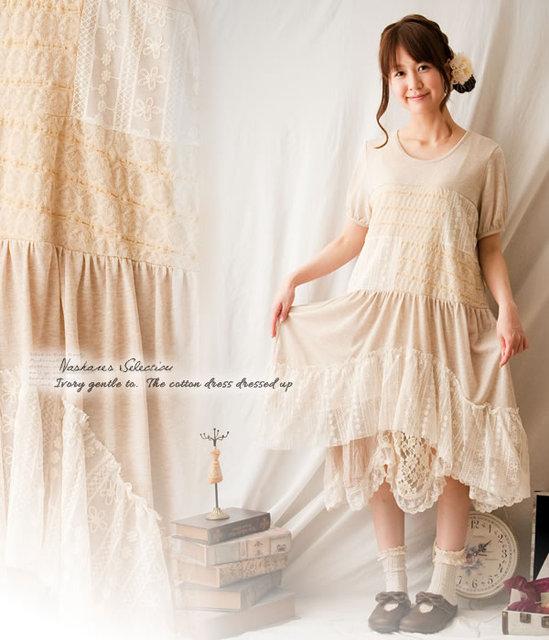 f6cd90ef4cf30 lace ruffle dress vetement femme mori girl lolita hippie dresses boho  bohemian vintage spain ropa mujer