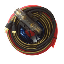 Audio Wire Cable Kit Subwoofer Amplifier Speaker Installation 8GA Car Power with Fuse Holder