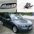 For Volvo C30 2006 2007 2008 2009 Excellent angel eyes kit Ultra bright headlight illumination CCFL Angel Eyes kit Halo Ring