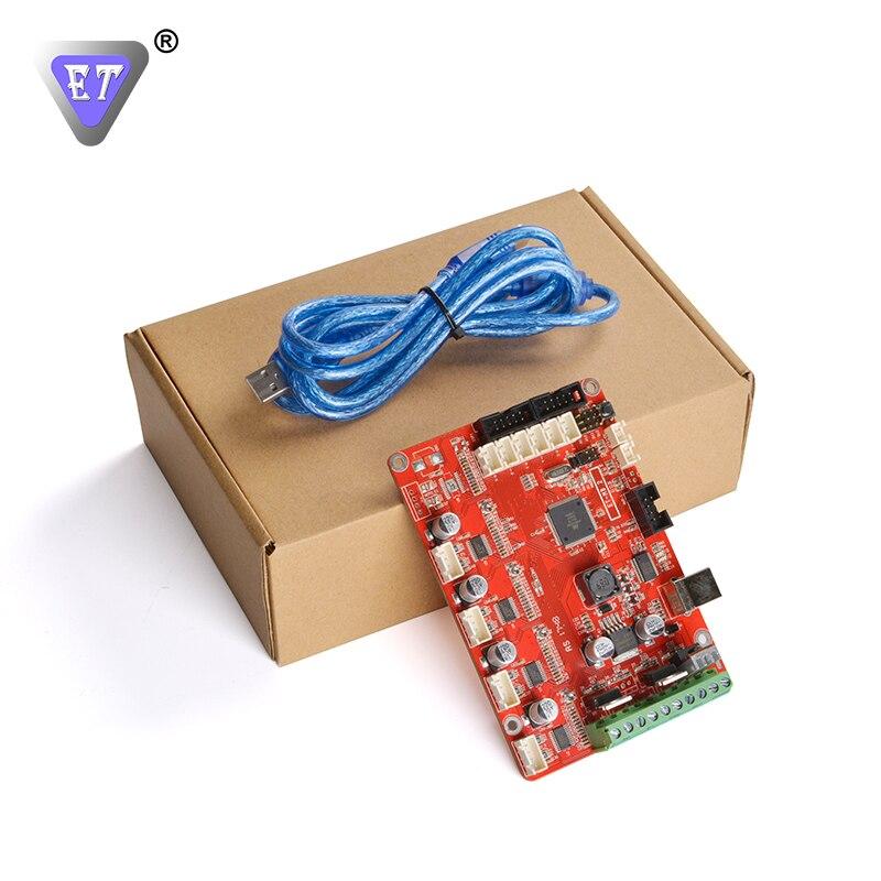 ET 3D Printer Parts Control Board Single Extruder Motherboard Mega2560 Compatible Reprap Ramps 1.4 Include 4 Motor Driver USB ramps 1 4 printer control reprap module for 3d printer deep blue