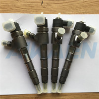 4pcs brand Original CR Injector 0445110293 1112100 E06 for Great Wall Hover H3