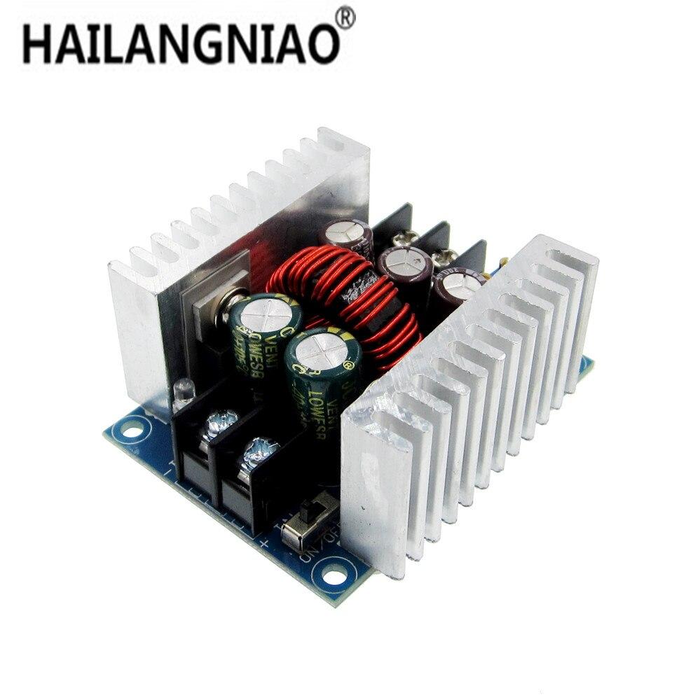 300 W 20A DC-DC Buck Converter paso abajo módulo controlador LED de corriente constante de bajada módulo tensión condensador electrolítico