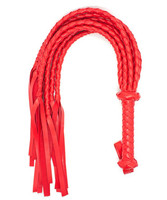 Bdsm Fetish Red PU Leather Whip Flogger Ass Spanking Bondage Slave Flirting Toys For Men And Women,Erotic Fun Couples Toys