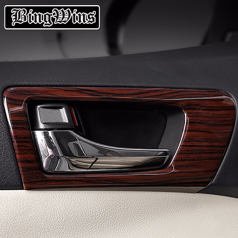 Car Styling ABS Door Inner Handle Trim For Toyota Camry V50 V55 2012-2016 Interior Handle Frame Covers Trim Car Accessories