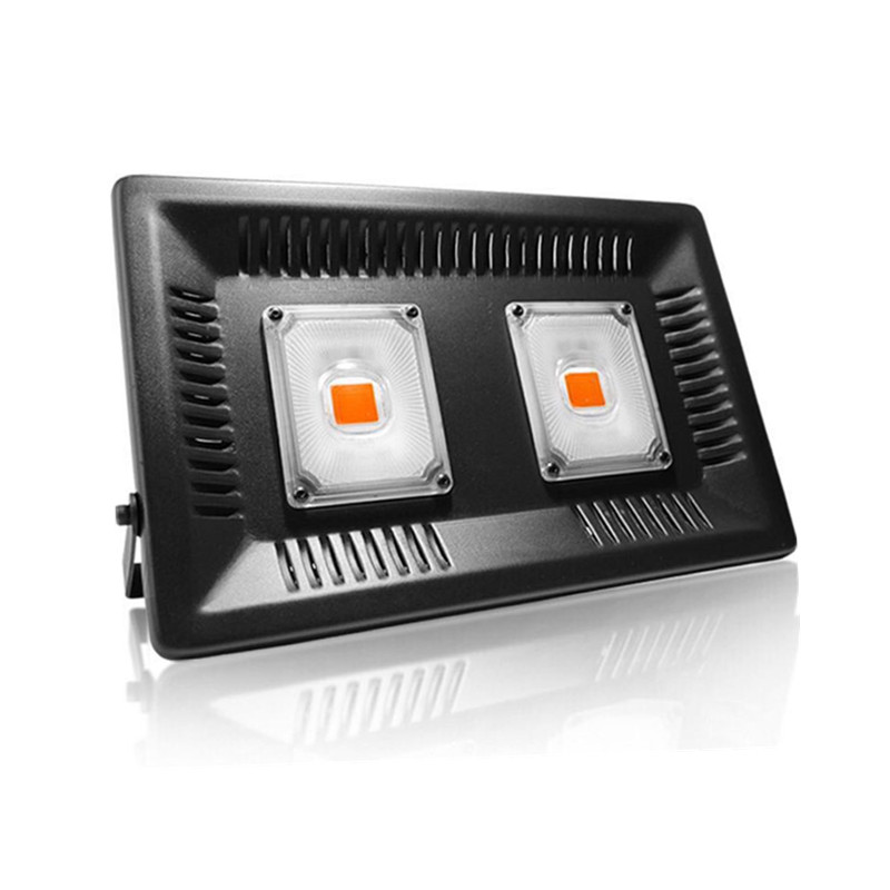 Commercial Greenhouse Led Grow Lights: 50W 100W Reflector Cup Full Spectrum Led Grow Lights For