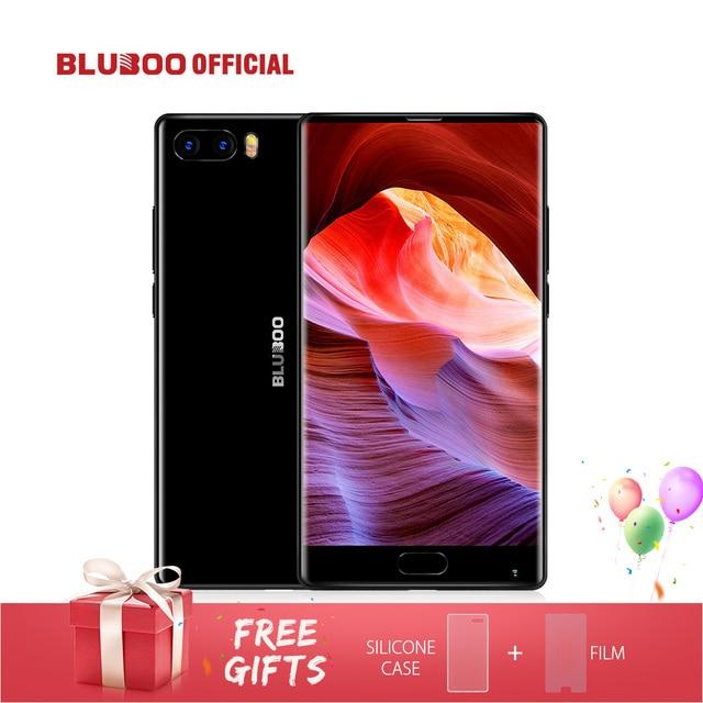"BLUBOO S1 5,5 ""FHD 4G Smartphone 4G RAM 64G ROM MTK6757 Octa Core Android 7,0 teléfono móvil 13MP + 5MP Dual cámara trasera OTG"