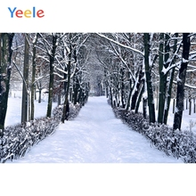 Yeele Winter Landscape Photocall Snow Room Decor Photography Backdrops Personalized Photographic Backgrounds For Photo Studio