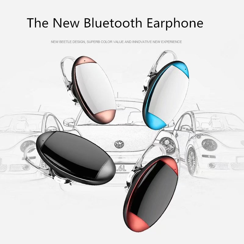 Nitaw D4 Mini Wireless Cordless Bluetooth Earphone Anti-sweat For Sport Small Light Half-moon Shape Microphone Headset Bluetooth Earphones & Headphones Earphones & Headphones