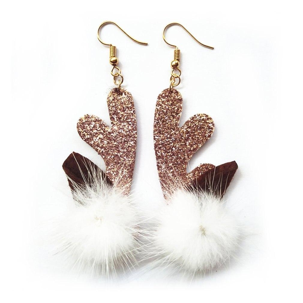 GENBOLI Simple Sweet Fabric Drop Earrings Elegant Earring For Women Girls Jewelry Christmas Gift Ball Eardrop Knot Earrings