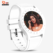 LIGE New Smart Watch Men Casual Fashion Rubber Strap Sport Women Pedometer LED Stopwatch Support SIM Make Call