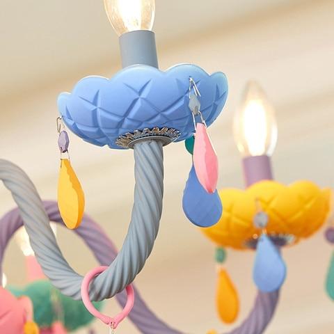 quarto lustre criativo fantasia menina princesa luminaria luminarias